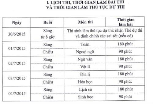 bo-chinh-thuc-chot-lich-thi-thpt-quoc-gia