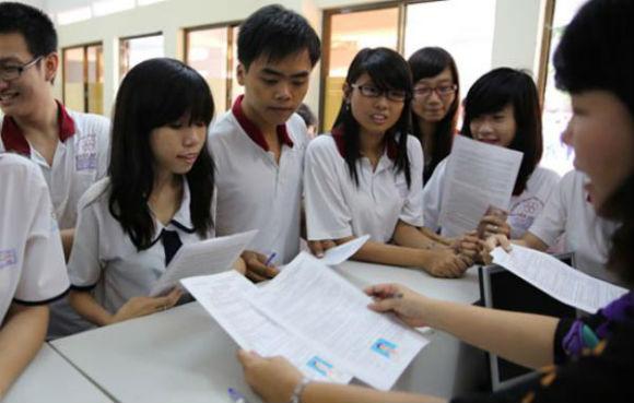 Lệ phí thi chính thức trong kỳ thi THPT Quốc gia ảnh 2
